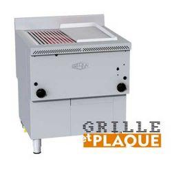 Churrasqueira grill à gaz horizontal Gresilva surface de cuisson 291X636MM
