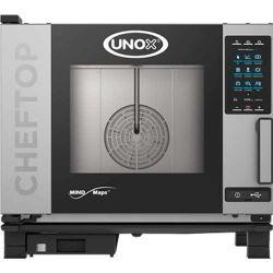 Fours mixtes Cheftop Mind.Maps 5 niveaux GN1/1 ONE UNOX électrique ou gaz
