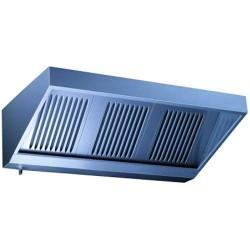 Hotte professionnelle VECTEUR avec Filtre Choc dynamique 2500x750mm