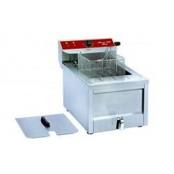 Friteuse électrique professionnelle avec vidange 12 litres 9kW