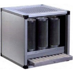 Groupe filtrant à charbon actif 9 cylindres