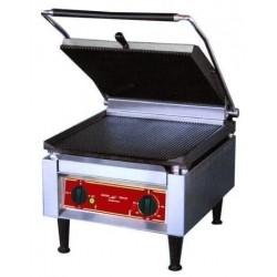 """Super panini grill """"GEANT"""" plaque rainurée ou lisse"""