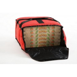 Sac à pizza isothermique pour 4 cartons pizza ø 40 cm