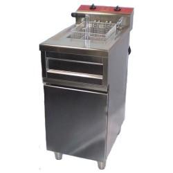 Friteuse électrique haut rendement 1 cuve sur coffre 9 ou 12 L
