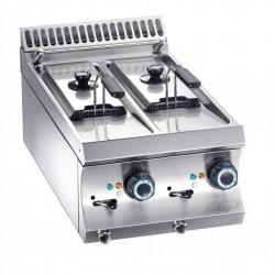 Friteuse électrique 2 cuves 6+6 litres MBM