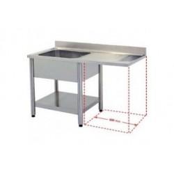 Plonge spéciale pour Lave-vaisselle encastrable (PLV) gamme 600