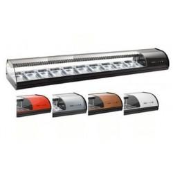 Vitrine à sushi standard - 10 xGN1/3x40