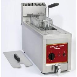 Friteuse à gaz 8 L à poser Electro Broche 6 kW