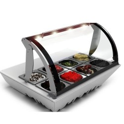 Vitrine réfrigérée - TOPPING BOX