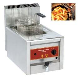 Friteuse à gaz 12 L à poser Electro Broche 9 kW