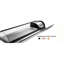 Vitrine réfrigérée pour tapas avec fond plat - 2140mm