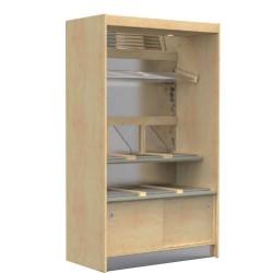 Panetières PANECO - Finition bois - Lg 760 à 1480mm