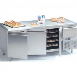 Tour pâtissier réfrigérée EURONORM 400x600 groupe logé