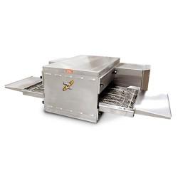 Four convoyeur à pizza sans socle - Tapis 485x1070