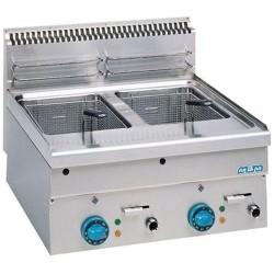 Friteuse électrique 2 cuves 2x 8 litres MBM