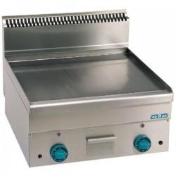 Plaque grillade lisse surface utile 550x580mm - MBM