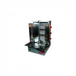 Machine à kebab gyros gaz 4 feux Electro Broche