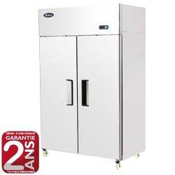 Armoire réfrigérée positive 2 portes GN1/1 900L inox