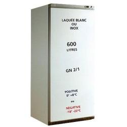 Armoire réfrigérée 1 porte 570L- laquée blanc