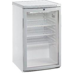 Mini vitrine de comptoir réfrigérée +4°+10°C / 112-145 Litres