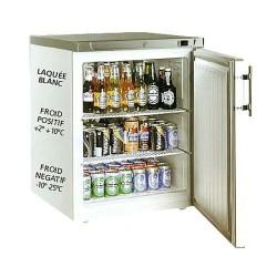 Armoire réfrigérée 1 porte 170L Laquée blanc POSITIVE ou NEGATIVE