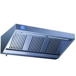 Hotte professionnelle complète ELIX'AIR avec filtre choc 1200x950 mm