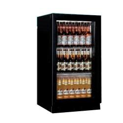 Arrière-bar réfrigéré vitré compact - jusqu'à 335 Litres