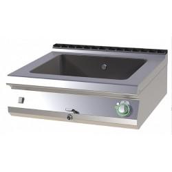 Bain-marie GN2/1 option monobloc sur coffre