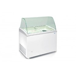 Comptoir vitrine de crèmes glacées - 310 Litres - Simple