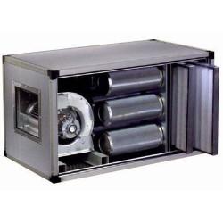 Groupe filtrant à charbon actif dynamique 9 cylindres