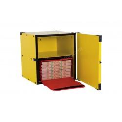 BOX RIGIDE CALORIFUGÉ GIMETAL - 520 X 530 X 520 MM