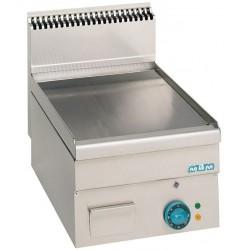 Plaque de cuisson éléctrique lisse, chromée ou rainurée - MBM