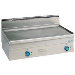 Plaque de cuisson électrique lisse ou chromée extra large - MBM
