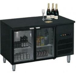 Arrière bar réfrigéré 2 à 4 portes vitrées 260 à 426 litres