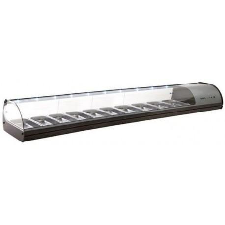 Vitrine à réfrigérée pour tapas - Standard - 10xGN1/3x40