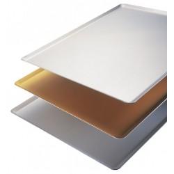 Plaque magasin 400x600 - anodisé gris alu