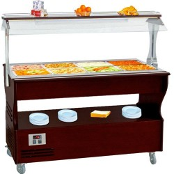 BUFFET CHAUFFANT CENTRAL SB60CRO