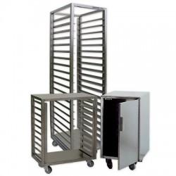 Echelle de manutention inox pour plaques 400x600 - 15 étages