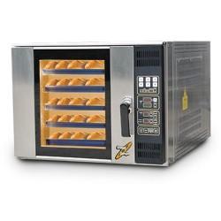 Four ventilé programmable avec oura automatique 10 plaques 400x800