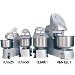 Pétrins à spirale série KM - 3 à 120 kg