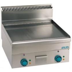 Plaque de cuisson éléctrique lisse, chromée ou rainurée large- MBM