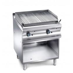 Grill charcoal gaz sur baie pour viande - surface 625x500mm - MBM