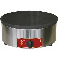 Crêpière simple électrique ou gaz professionnelle Electro Broche 40 cm ø