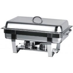 Chafing Dish avec Couvercle et Pieds en Inox GN1/1